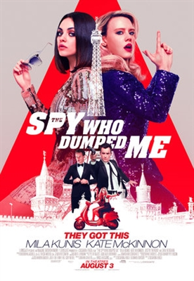The Spy Who Dumped Me poster #1574787