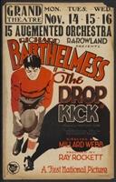 The Drop Kick movie poster