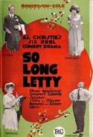 So Long Letty movie poster