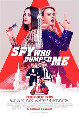 The Spy Who Dumped Me poster #1582310