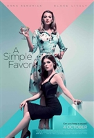 A Simple Favor movie poster