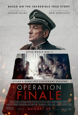 Operation Finale poster #1582981