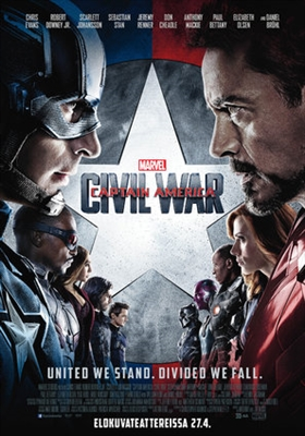 Captain America: Civil War poster #1587843