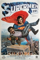 Superman III movie poster