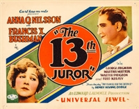The Thirteenth Juror movie poster