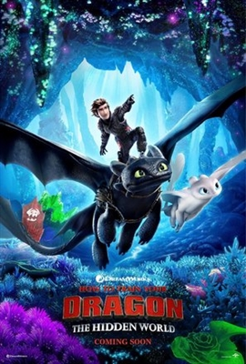 How to Train Your Dragon: The Hidden World poster #1592079