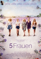 5 Frauen movie poster