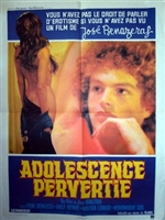 Adolescence pervertie movie poster