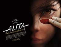 Alita: Battle Angel movie poster
