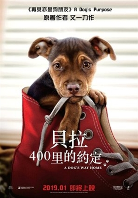 A Dog's Way Home poster #1597360