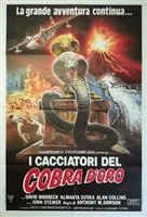 Cacciatori del cobra d'oro, I movie poster