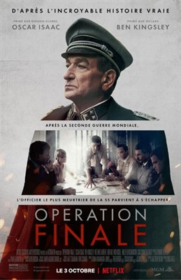 Operation Finale poster #1600081