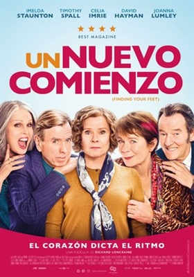 Finding Your Feet poster #1602637