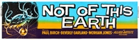 Not of This Earth movie poster