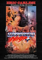 Commando Ninja movie poster
