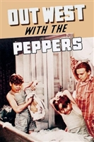 Out West with the Peppers movie poster
