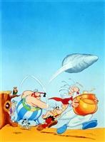 Astérix et le coup du menhir movie poster
