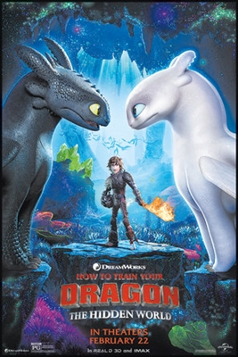 How to Train Your Dragon: The Hidden World poster #1611266