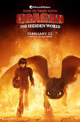 How to Train Your Dragon: The Hidden World poster #1611773