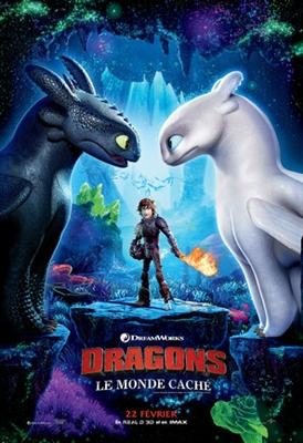 How to Train Your Dragon: The Hidden World poster #1611777