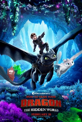 How to Train Your Dragon: The Hidden World poster #1611789