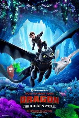 How to Train Your Dragon: The Hidden World poster #1611790