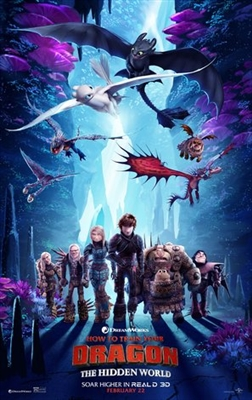 How to Train Your Dragon: The Hidden World poster #1611809