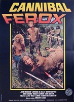 Cannibal ferox movie poster
