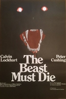 The Beast Must Die movie poster