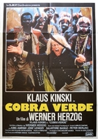 Cobra Verde movie poster