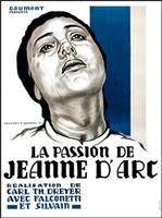 La passion de Jeanne d'Arc movie poster