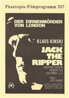 Jack the Ripper movie poster