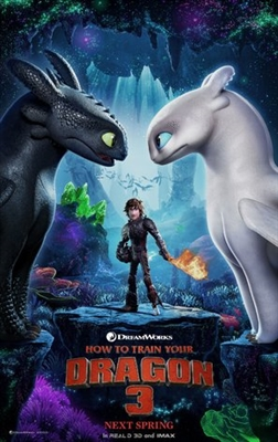 How to Train Your Dragon: The Hidden World poster #1615923