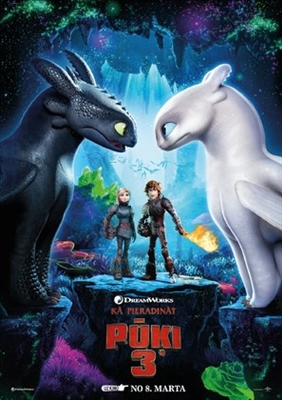How to Train Your Dragon: The Hidden World poster #1615926