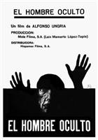 El hombre oculto movie poster
