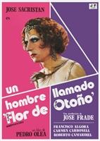 Hombre llamado Flor de Otoño, Un movie poster