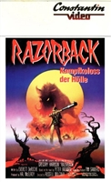 Razorback movie poster