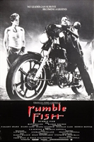 Rumble Fish movie poster