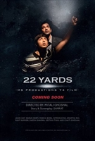 22 Yards movie poster