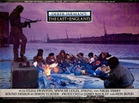 The Last of England movie poster
