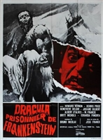 Drácula contra Frankenstein movie poster