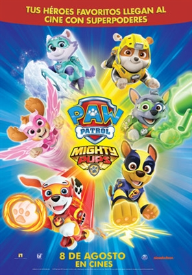 paw patrol: mighty pups movie poster 1632358 - movieposters2