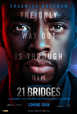 21 Bridges poster #1639800