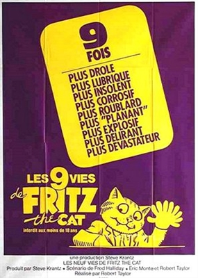 The Nine Lives of Fritz the Cat poster #1641103