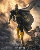 Black Adam movie poster