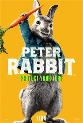 Peter Rabbit poster #1657773
