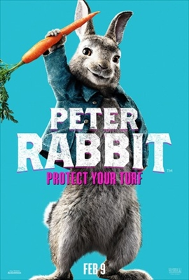 Peter Rabbit poster #1657774