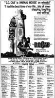 D.C. Cab movie poster