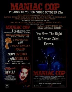 Maniac Cop poster #1666854