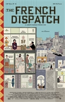 The French Dispatch movie poster